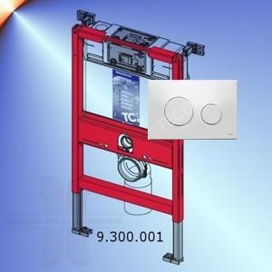 tece sp lkasten wc trockenbau bh 82 cm teceloop weiss ebay. Black Bedroom Furniture Sets. Home Design Ideas