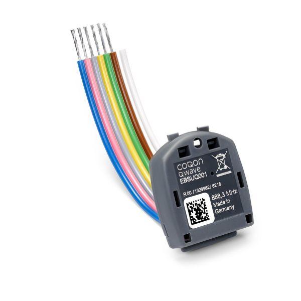 COQON Einbausender 4-Kanal für externe Schalter einsetzbar EBSUQ001 - Bild 1