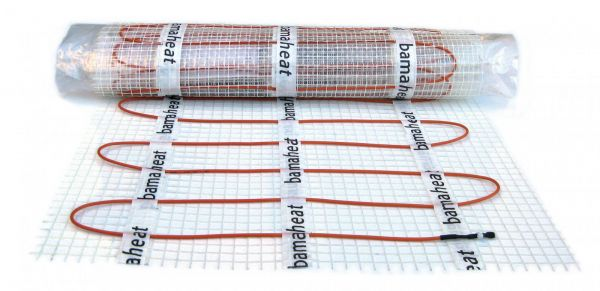 bamaheat Elektro-Dünnbettheizmatte EDM 4,0m², 50x800cm, 600 Watt, anschlussfertig 8000-42.40 - Bild 1
