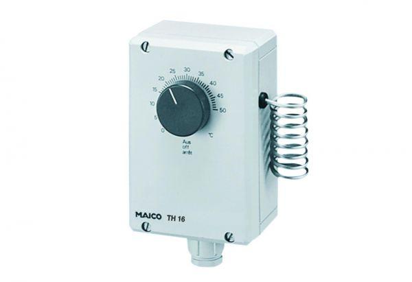 Maico Thermostat TH 16 mit Fernfühler 16A Nr. 0157.0748 - Bild 1
