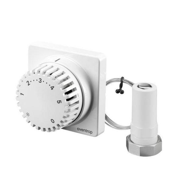 Oventrop Thermostat Uni FH 7-28 Grad mit Fernverstellung 2 Meter, weiß 1012295 - Bild 1