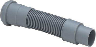 Viega Abgangsrohr DN 50 500mm lang flexibel mit Dichtung 460778 - Bild 1