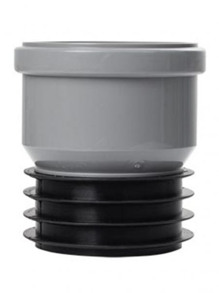 Airfit Steckmuffe-Plus DN 90x90 konzentrisch aus PP für dickwandige Rohre 9090S - Bild 1