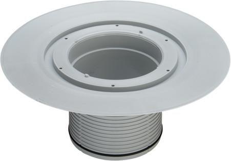 Viega Aufstockelement Advantix 4996.1 Kunststoff grau 285128 - Bild 1