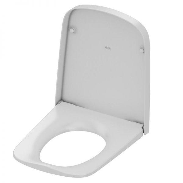 TECEone WC-Sitz softclose weiß mit verchromten Metallscharniere 9700600 - Bild 1