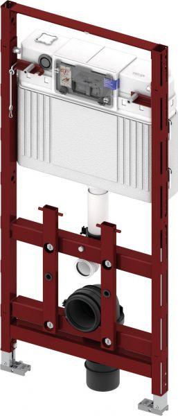 TECElux Spülkasten WC-Modul 100 BH 1120 Einwurfschacht 9600100 - Bild 1
