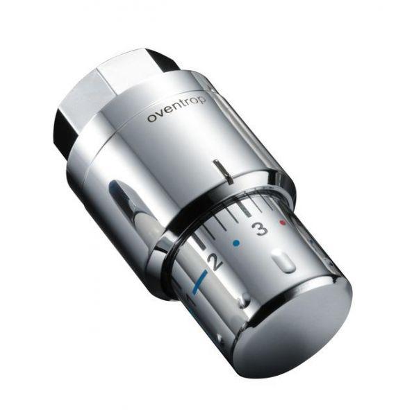 Oventrop Thermostat Uni SH 7-28 Grad mit Flüssig-Fühler verchromt 1012069 - Bild 1