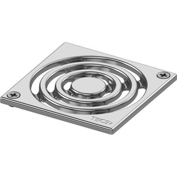 TECEdrainpoint S Designrost 100x100 mm Edelstahl verschraubbar 3665000 - Bild 1