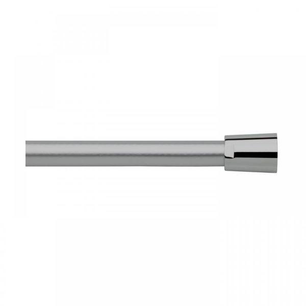 Nikles Brauseschlauch 1/2'' x 1,25 m PVC-frei gewebeverstärkt verchromt NIKBS125 - Bild 1