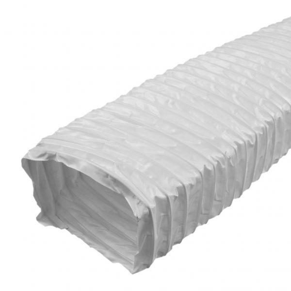 IKM Flexibles Ausgleichsstueck 125 mm, Länge 480 mm weiss 32050100 - Bild 1