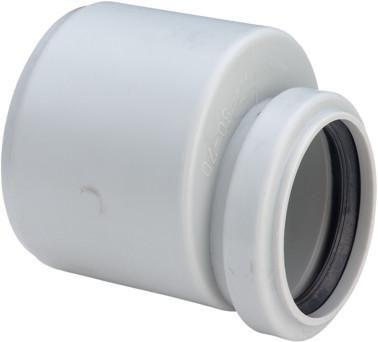 Viega Übergangsstutzen 50x70mm 4915 Kunststoff grau 138752 - Bild 1