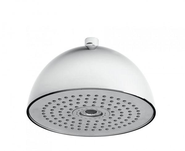 Nikles Kopfbrause Light Round ABS verchromt / grau NIKLIRKBGR - Bild 1