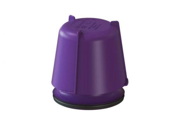 Kessel Glockengeruchverschluss aus PP herausnehmbar Sperrwasserhöhe 100 mm 27171 - Bild 1