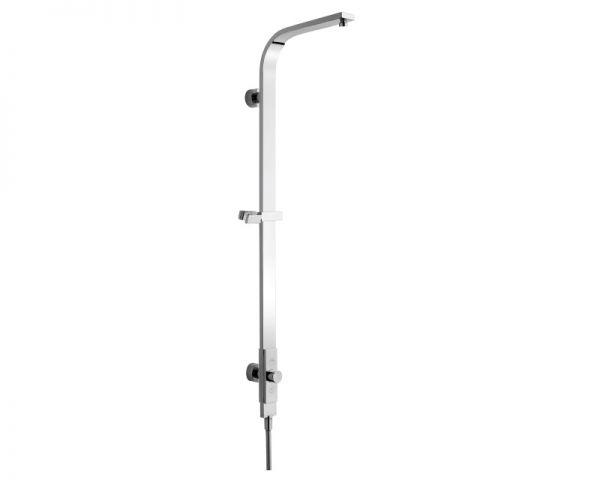Nikles Duschsystem Pure 1 ohne Kopf- und Handbrause verchromt