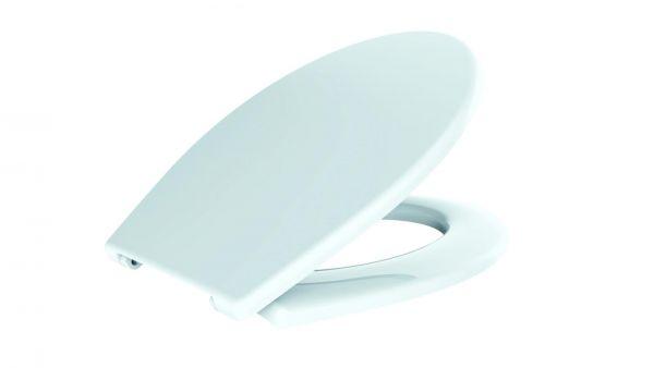 VIGOUR WC-Sitz one mit Deckel, weiß, SoftClose, mit Absenkautomatik - Bild 1