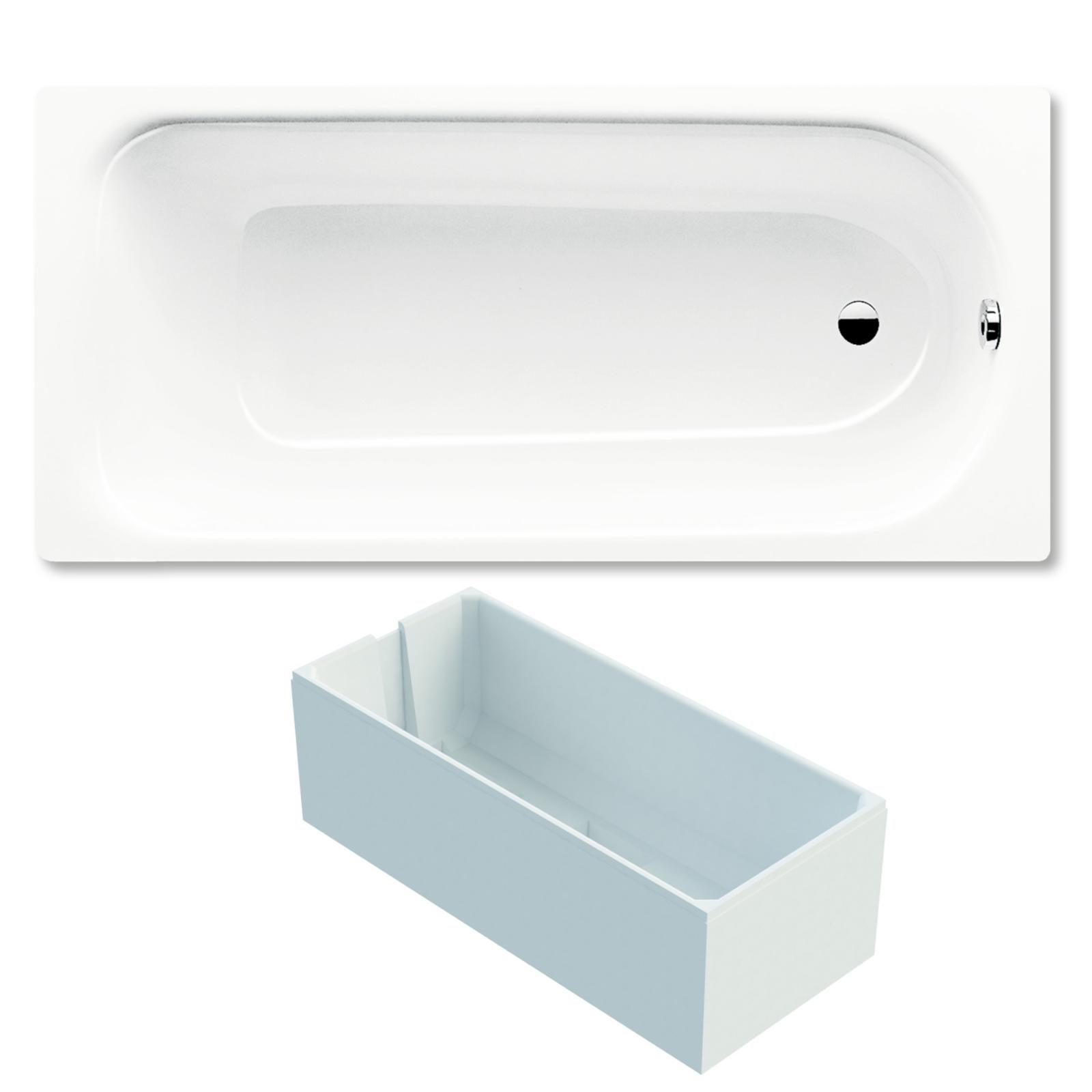 kaldewei saniform plus badewanne 180x80 cm stahl 3 5 mm modell 375 1 weiss inklusive tr ger. Black Bedroom Furniture Sets. Home Design Ideas