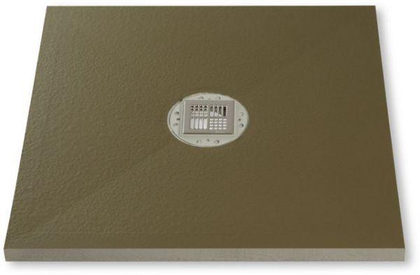 Poresta® Duschsystem BF KMK Ablauf zentral 900x900x45