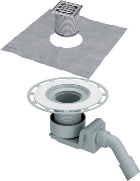 Viega Ablaufgarnitur DN40xDN50 4927 Kunststoff grau 557058 - Bild 1