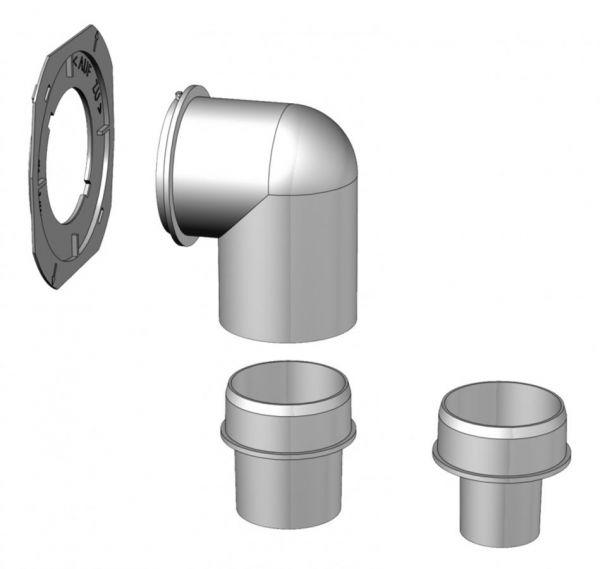 Helios WC-Anbindungsset ELS-WCS für Typen ELS-GU/-GUBA Nr. 8191 - Bild 1