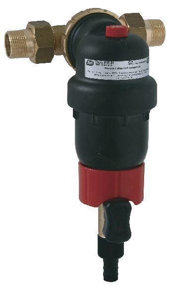 SYR Rückspülfilter DUO FR HOT DN 20 R 3/4'' 80°C ohne Druckminderer rückspülbar 2314.20.005 - Bild 1