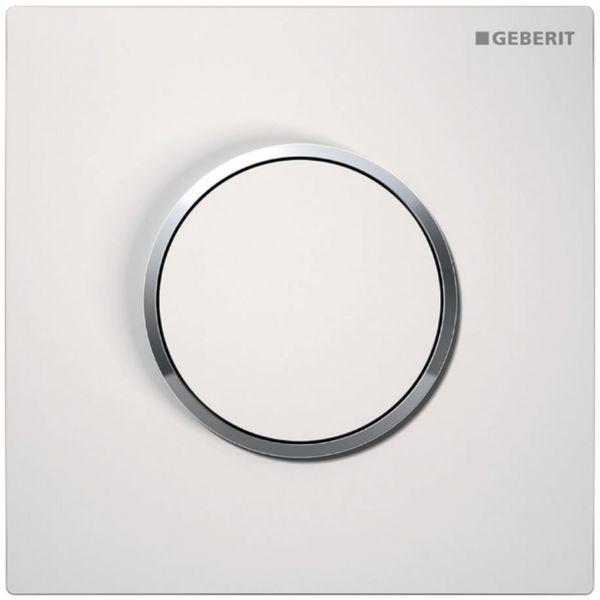 Geberit HyTouch UR-Handauslösung Sigma01 pneumatisch weiss/hgl.-verchromt 116.015.KJ.1 - Bild 1