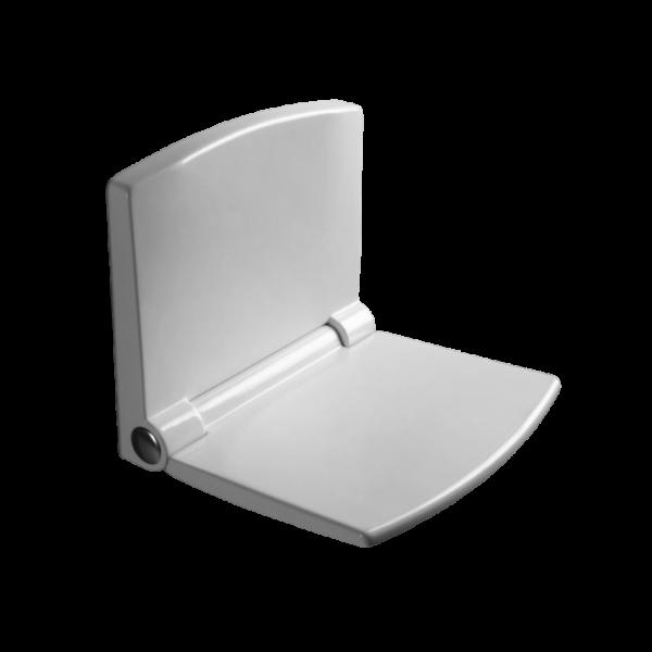 Sanit Duschsitz lifestyle aus Thermoplast weiß-alpin 54002010000