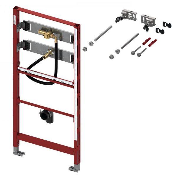 TECE Urinalmodul Bauhöhe 1120 mm mit Spülergehäuse 9.320.008 und Modulbefestigung - Bild 1