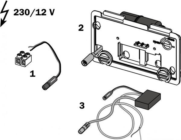 TECE Ersatzteil Elektronik 12V kabelgebunden 9.820.206 - Bild 1