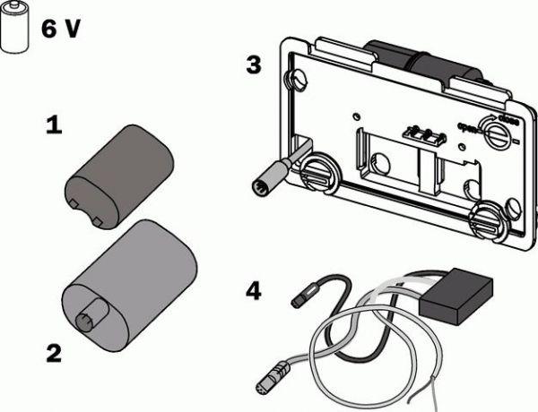 TECE Elektronik 6V kabelgebunden 9.820.205
