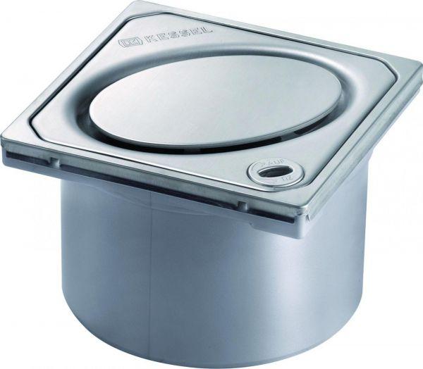 Kessel Aufsatzstück Designrost Lock&Lift Oval V2A 120x120 mm Klasse L15 Nr. 48202 - Bild 1