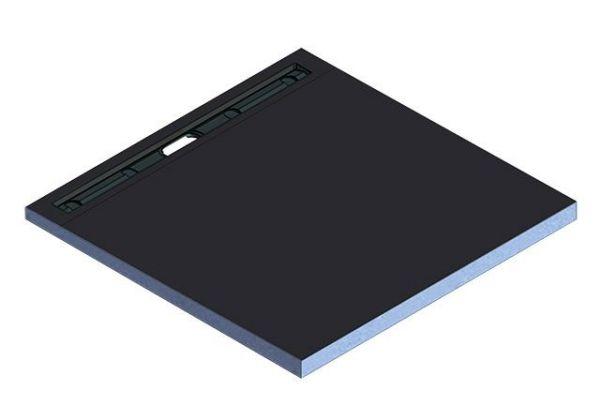 Kermi Board Line EXE 100100 L 1000 x B 1000 x H 50 mm - Bild 2