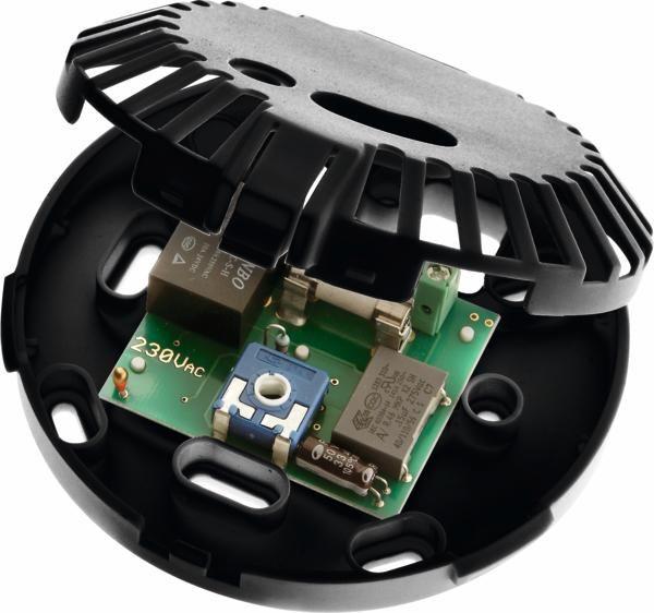 TECEfloor Designthermostat-Basis DT 24 V Grundkörper schwarz mit Platine 77410025 - Bild 1