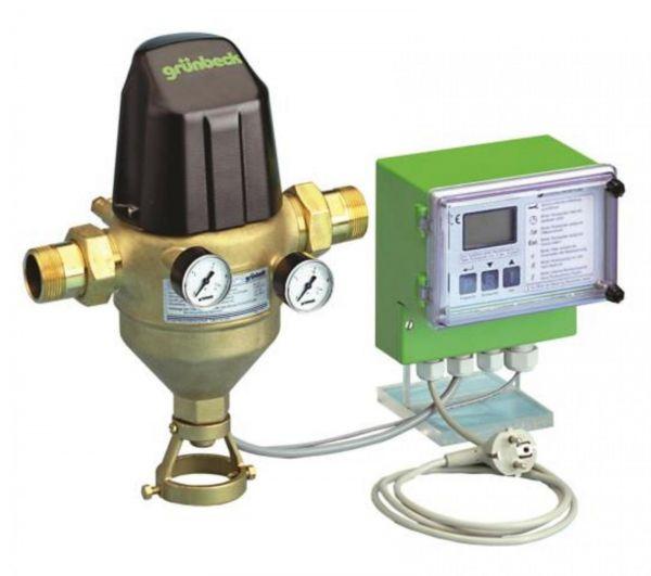 Grünbeck GENO-Rückspülfilter MXA 2'' Baulänge 323 mm Bauhöhe 455 mm Nr. 107465 - Bild 1
