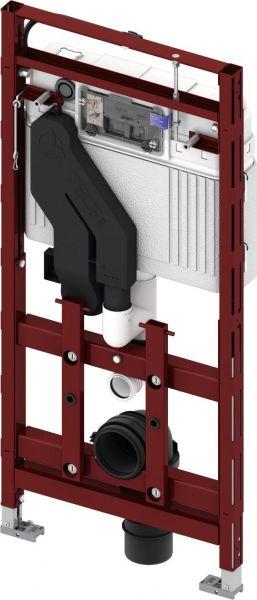 TECElux Spülkasten WC-Modul 400 BH 1120 Einwurfschacht 9600400 - Bild 1