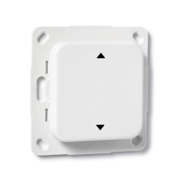 COQON Jalousietaster 1-fach Q-Wave Format B5 weiß TSFB5QAZ1 - Bild 2