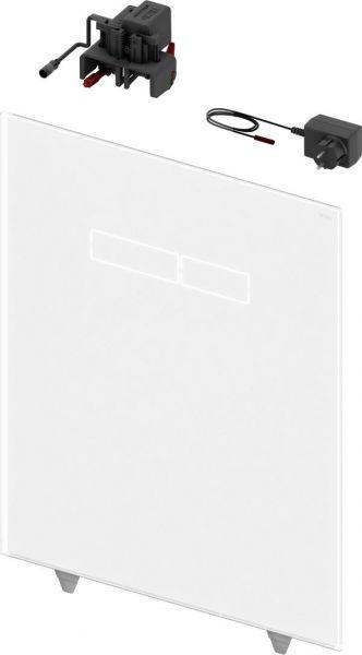 TECElux Betätigungsglasplatte mit elektronischer sen-Touch Betätigung weiß 9650002 - Bild 1