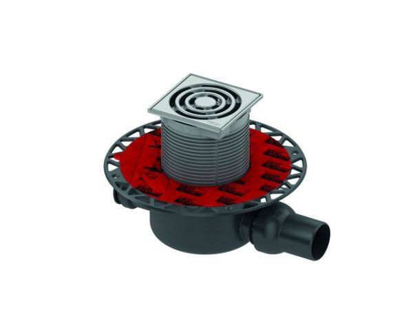 TECEdrainpoint S 122 Ablaufset Norm Seal System 3601202