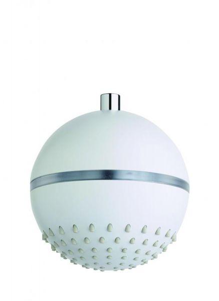 Nikles LED-Kopfbrause Luce D 180 mm rund weiss NIKLUCKB180WE - Bild 1