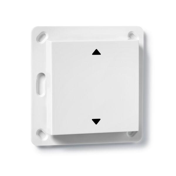 COQON Jalousietaster 1-fach Q-Wave Format 55 weiß TSF55QAZ1 - Bild 1