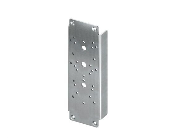 TECEprofil Stahlplattenset Aufnahme Stützklappgriffe 9.042.016