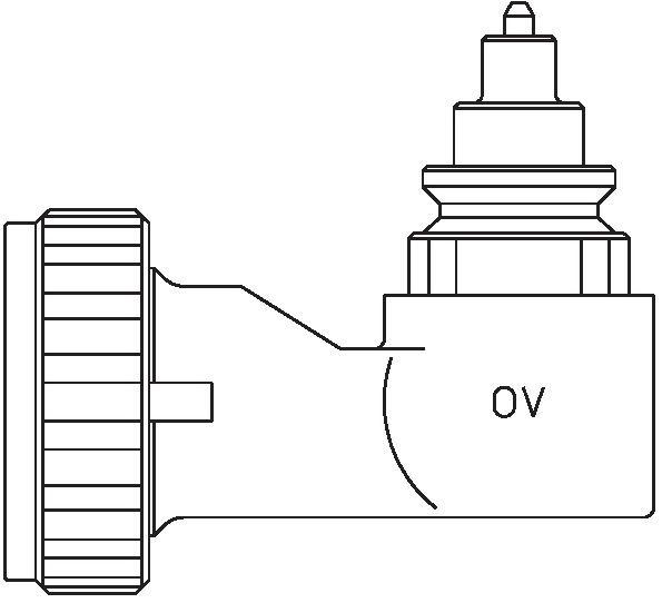 oventrop winkeladapter f r ventil heizk rper mit klemmverbindung wei 1011452 wuh24 online. Black Bedroom Furniture Sets. Home Design Ideas