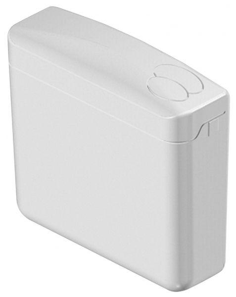 Pagette Spülkasten ecoPlus 6-9 Liter Aufputz 2-Mengen Schwitzwasser-gedämmt weiß 7.9519-0102 - Bild 1