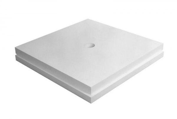 Poresta® Duschsystem BF Set 4 Unterbauelement 1200x1200 mm, 3 Platten Stärke 20/30/40 mm 17.704.043 - Bild 1