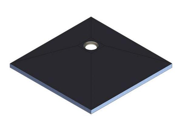 Kermi Board Point EXD 100100 L 1000 x B 1000 x H 40 mm - Bild 2