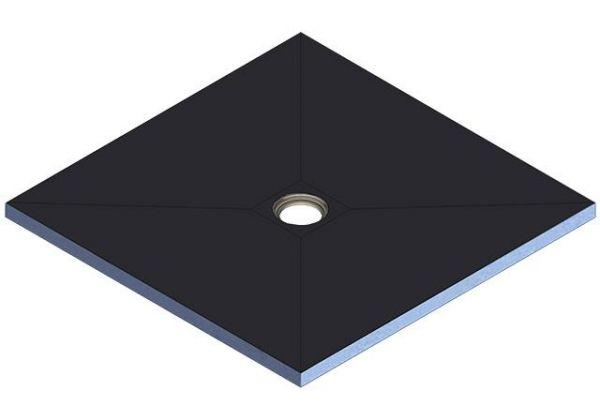 Kermi Board Point EXM 180075 L 1800 x B 750 x H 40 mm - Bild 2