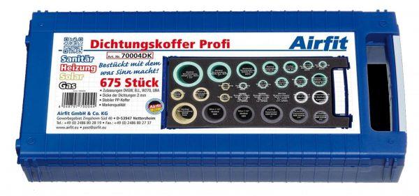 Airfit Universal-Dichtungssortiment Profi 675 Dichtungen für Sanitär-Heizung-Solar-Gas 70004DK - Bild 1