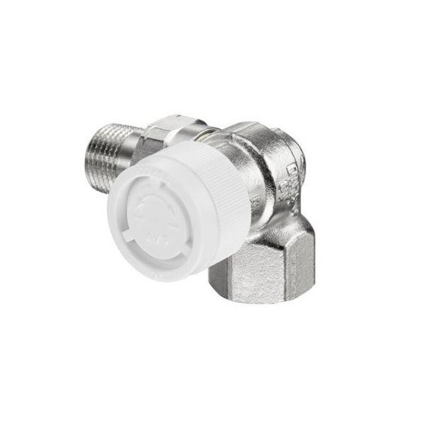 Oventrop Thermostatventil AV 9 DN 15, R 1/2, PN 10, Winkeleck rechts 1183473 - Bild 1