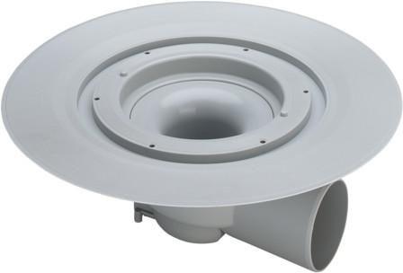 Viega Bodenablauf Advantix 70mm 4955.25 Kunststoff grau 289461 - Bild 1