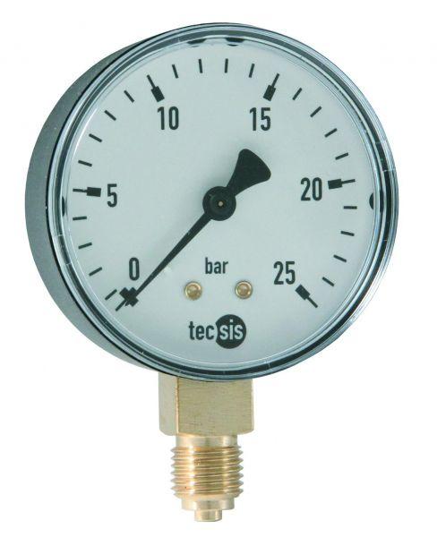 SYR Manometer 0-10 bar senkrecht 1/4'' 2000.00.906 für DRUFI, DUO Filter und Hauswasserstation 2000 - Bild 1