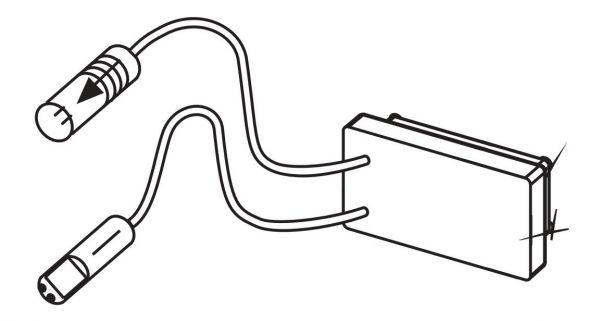 TECE Infrarotsensor 6 V Urinal Bat 9820087 - Bild 1